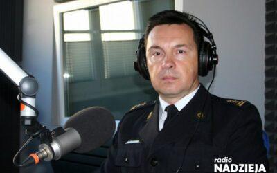 Popołudniówka: st. bryg. Grzegorz Wilczyński, KM PSP w Łomży