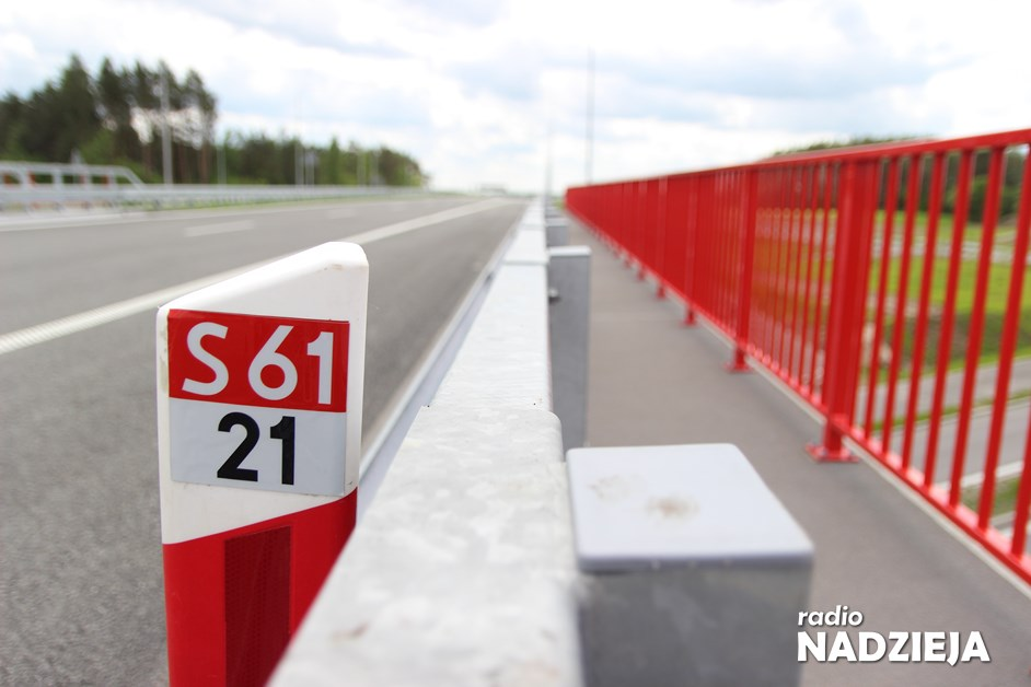 Via Baltica: Kończą się prace na odcinku Śniadowo-Łomża