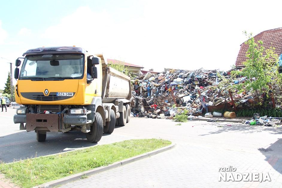 Piątnica: Likwidacja nielegalnego składowiska śmieci