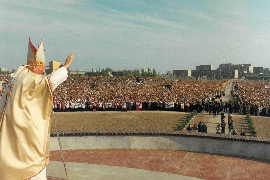 Łomża: 30 lat od wizyty Papieża Jana Pawła II