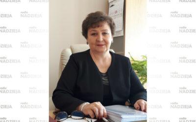 GD: Bożena Grotowicz, dyrektor Szpitala Ogólnego w Wysokiem Maz.