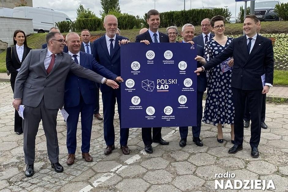 Łomża: Politycy Prawa i Sprawiedliwości promują Polski Ład