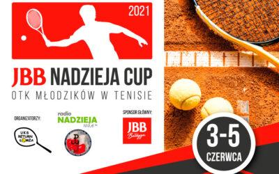 Tenis ziemny: Zapraszamy na JBB Nadzieja Cup 2021