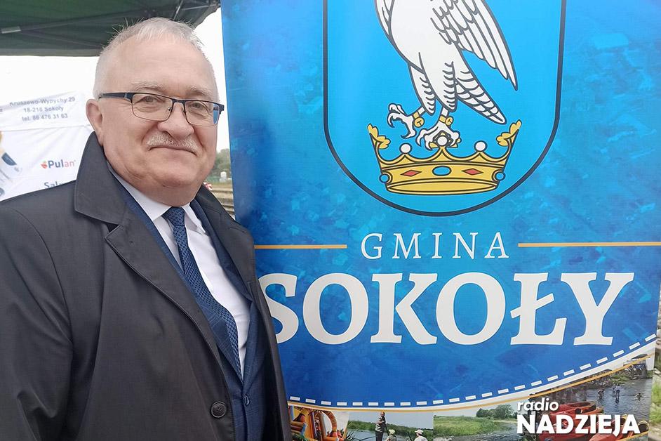 Popołudniówka: Józef Zajkowski, wójt gminy Sokoły