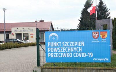 Giełczyn: Na szczepienia jadą aż z Warszawy
