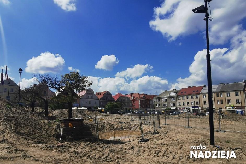 Łomża: Prace na Starym Rynku będą prowadzone