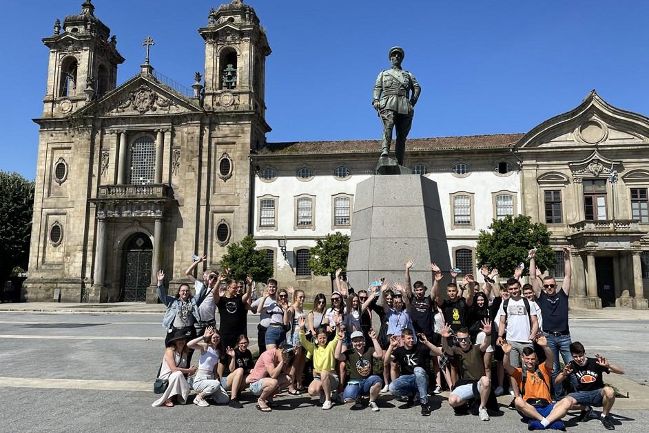 Łomża: Uczniowie ALO poszerzają swoje kompetencje w Portugalii