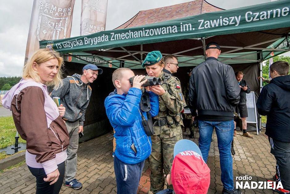 Nowogród: Mieszkańcy spotkali się z wojskiem