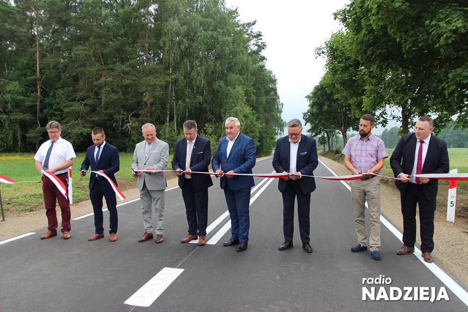 Powiat kolneński: Droga Stawiski-Kolno oficjalnie otwarta