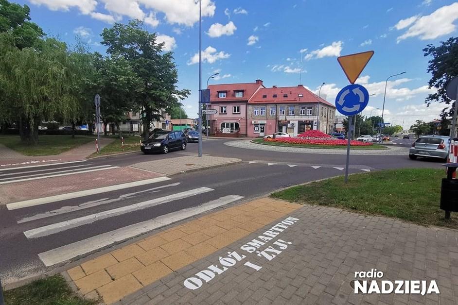 Łomża: Napisy przy przejściach będą przypominać o bezpieczeństwie