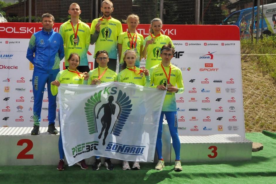 Lekkoatletyka: Medalowe szaleństwo biegaczy Prefbetu-Sonarol