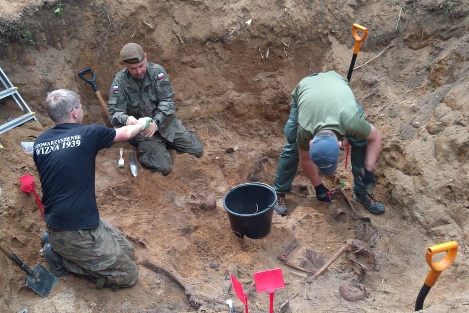 Gmina Jedwabne: W lesie znaleziono ludzkie szczątki