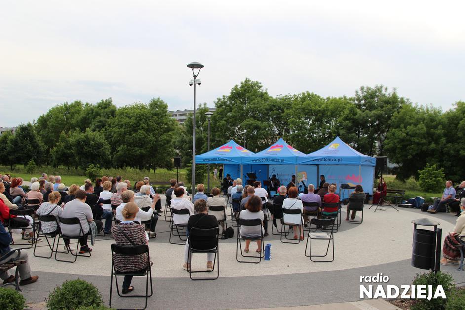 Łomża: Mieszkańcy wysłuchali koncertu filharmoników [FOTO]