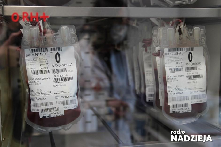Region: Zaczyna brakować krwi. RCKiK zaprasza krwiodawców