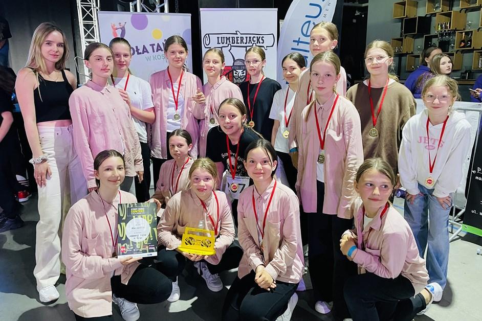 Taniec: Wychowankowie B.K.STEP na triumfują na turniejach