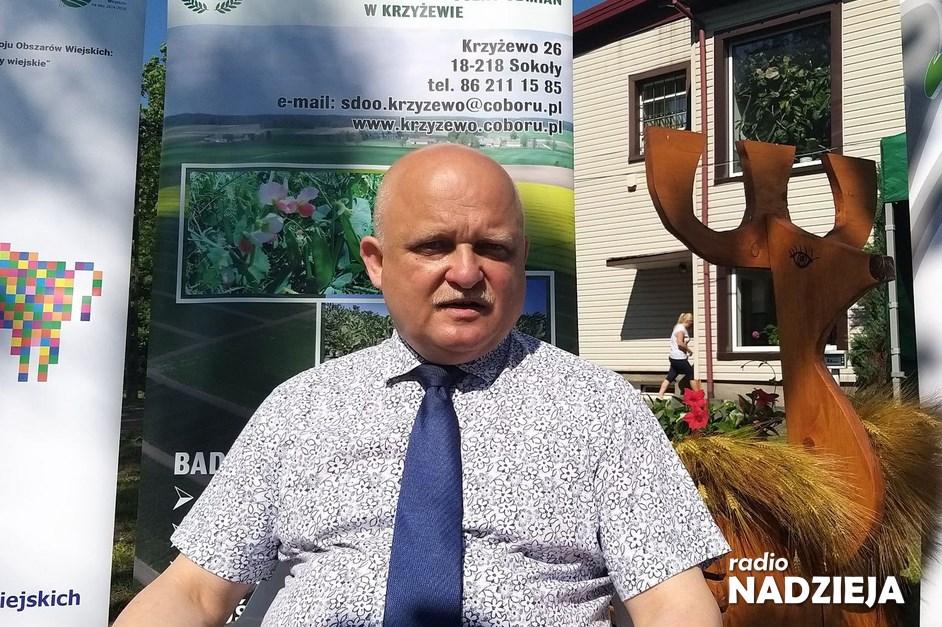 GD: dr inż. Bronisław Puczel, dyrektor SDOO w Krzyżewie