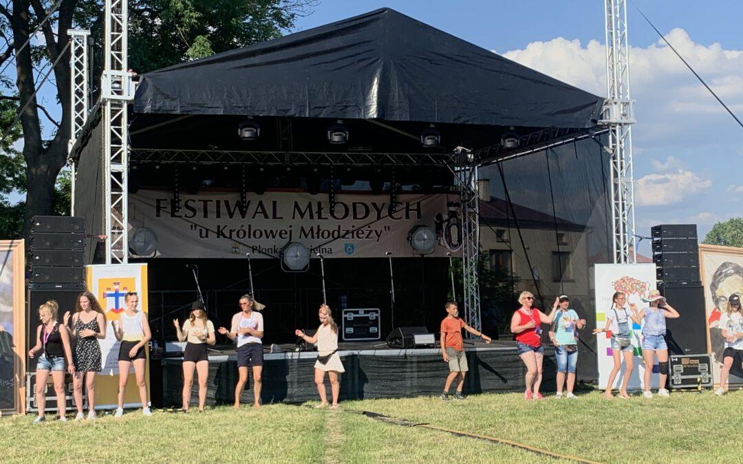 XI Festiwal Młodych u Królowej Młodzieży w Płonce Kościelnej