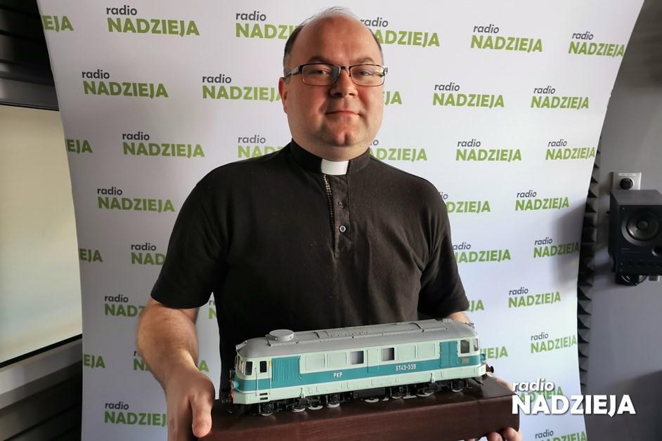 GD: ks. Paweł Nocko, egzorcysta, archiwariusz i pasjonat kolei