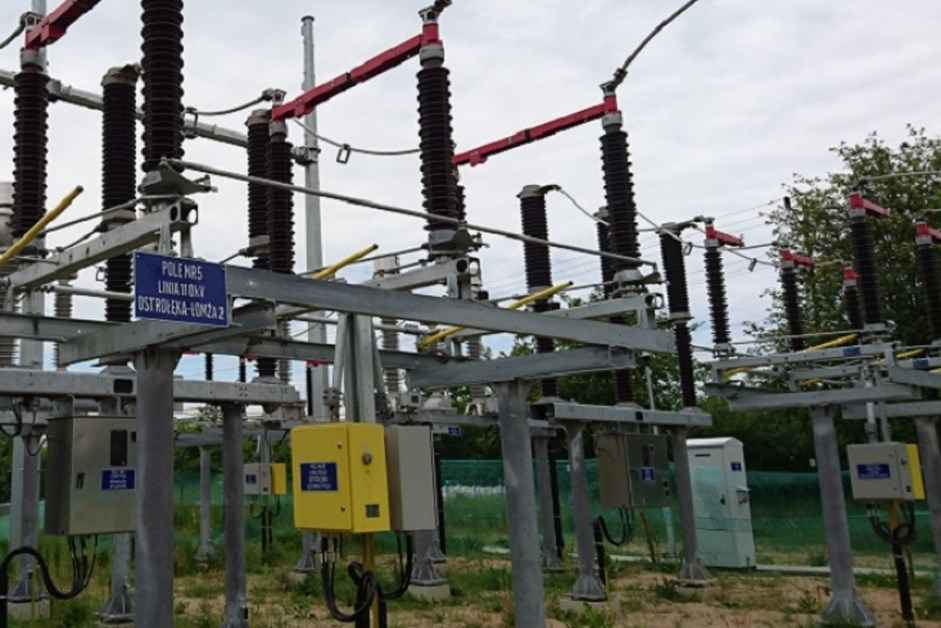 Łomża: PGE Dystrybucja modernizuje stację