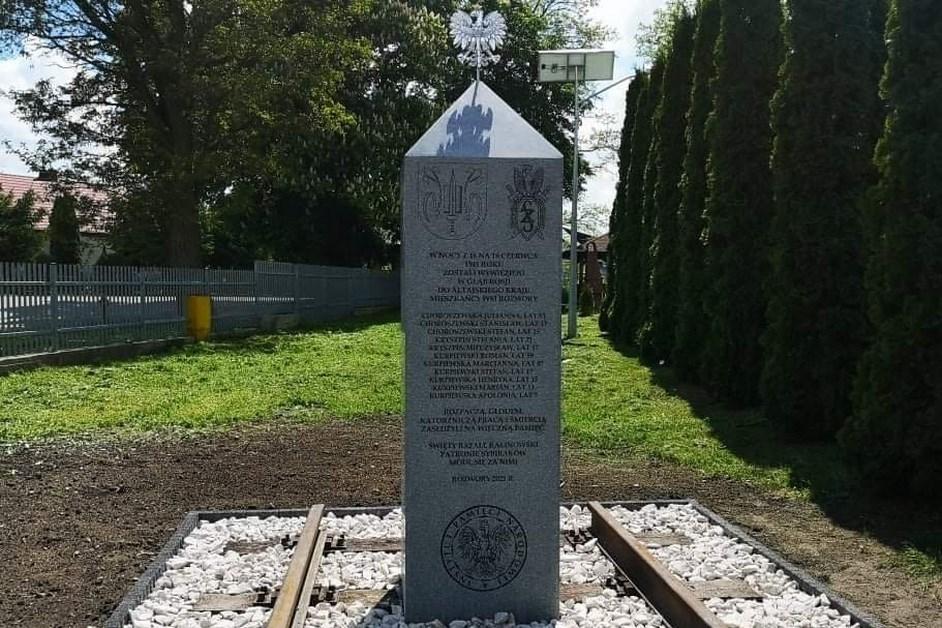 Gmina Rzekuń: Upamiętnią wywiezionych na Sybir