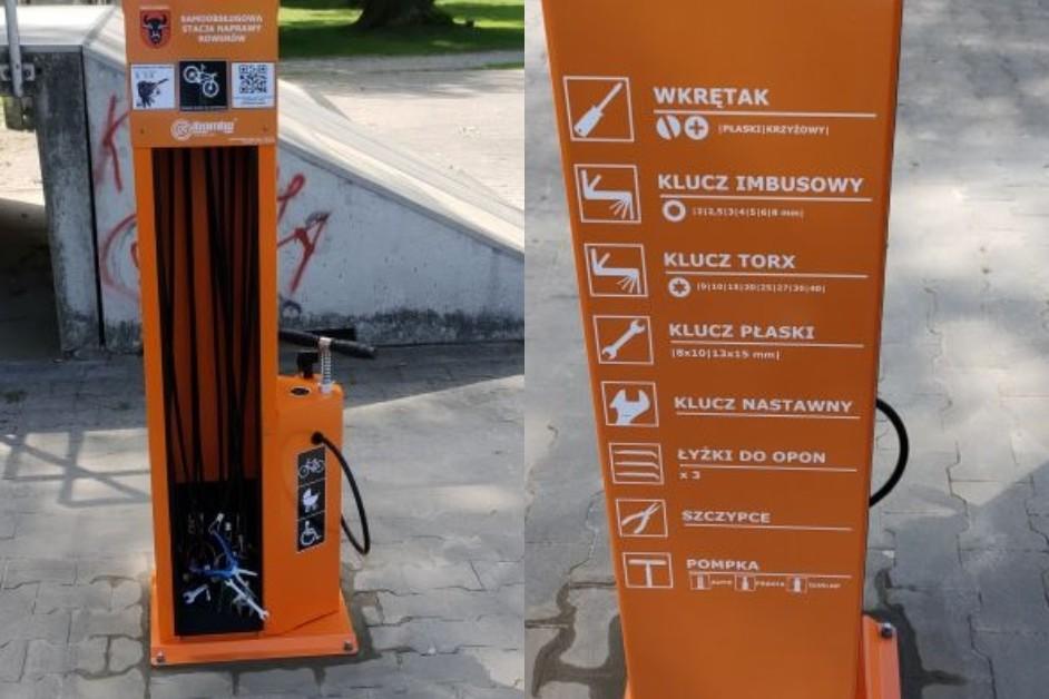 Zambrów: Napraw rower w samoobsługowej stacji