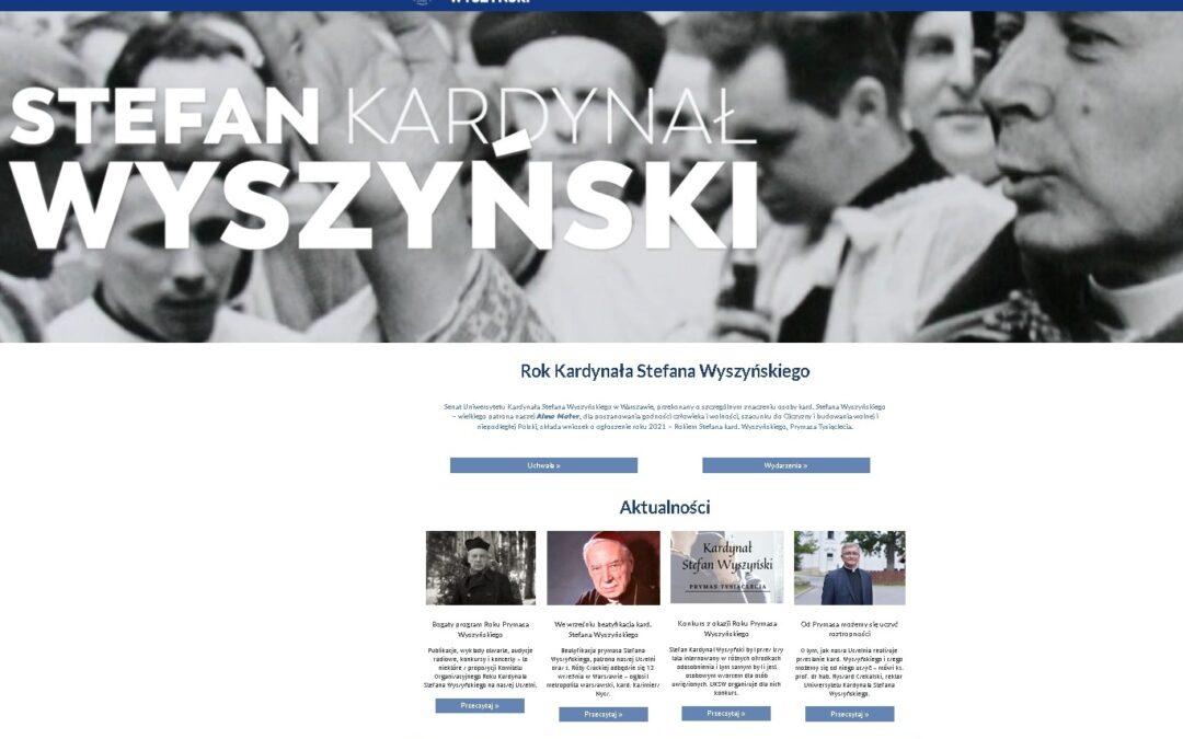 Wiara: UKSW otwiera stronę poświęconą swojemu Patronowi