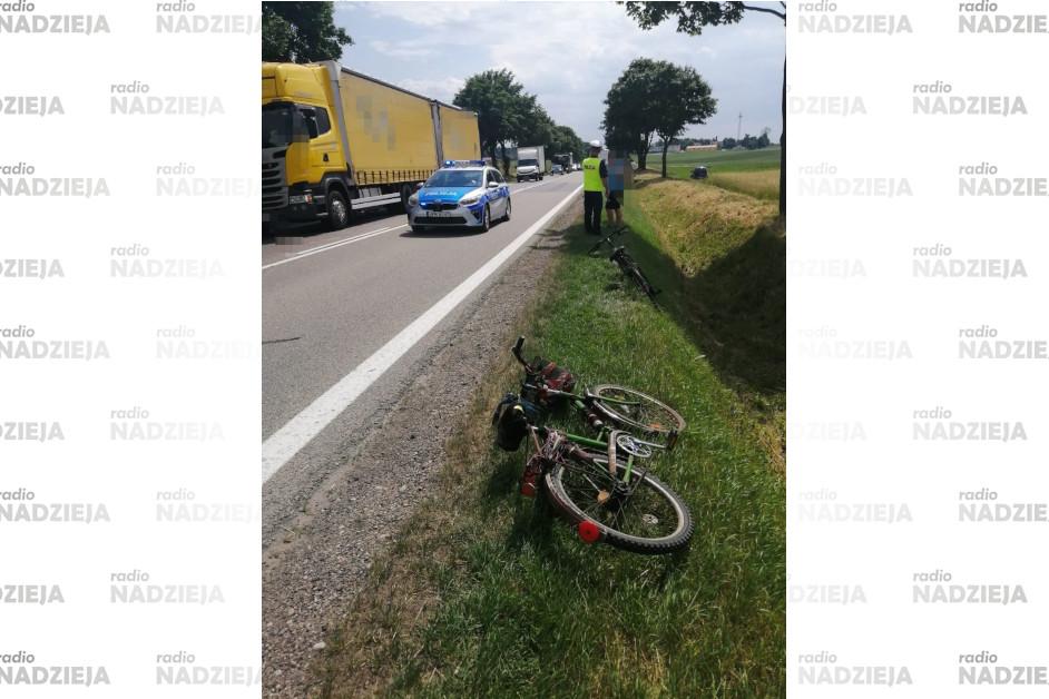 Powiat łomżyński: Wahadło na DK61 po potrąceniu rowerzysty