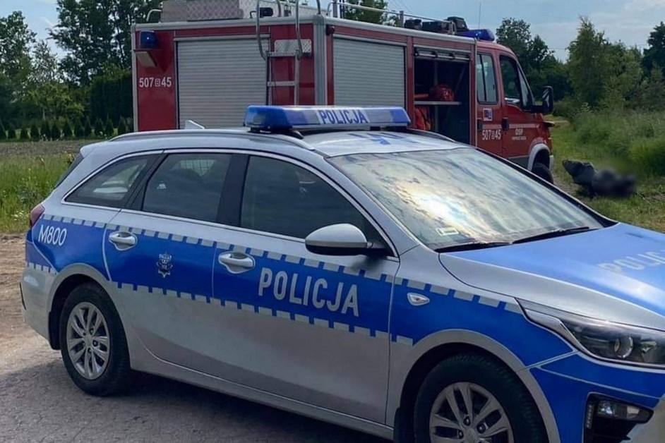 Powiat zambrowski: Śmiertelny wypadek z udziałem motocyklisty