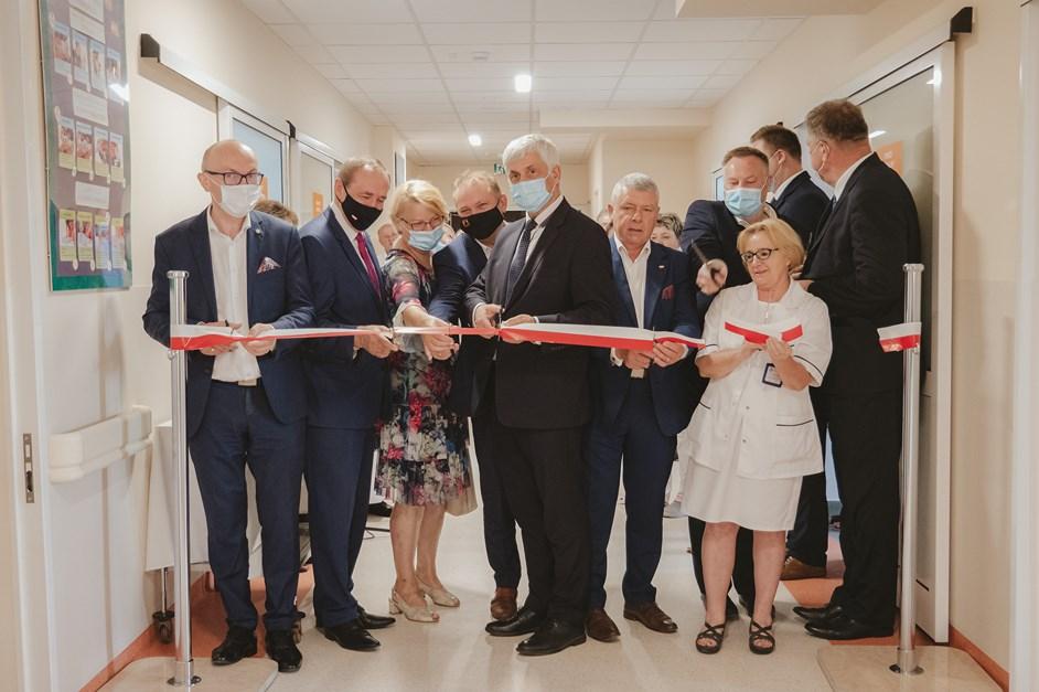 Wysokie Mazowieckie: Nowoczesny oddział pediatrii oddany do użytku