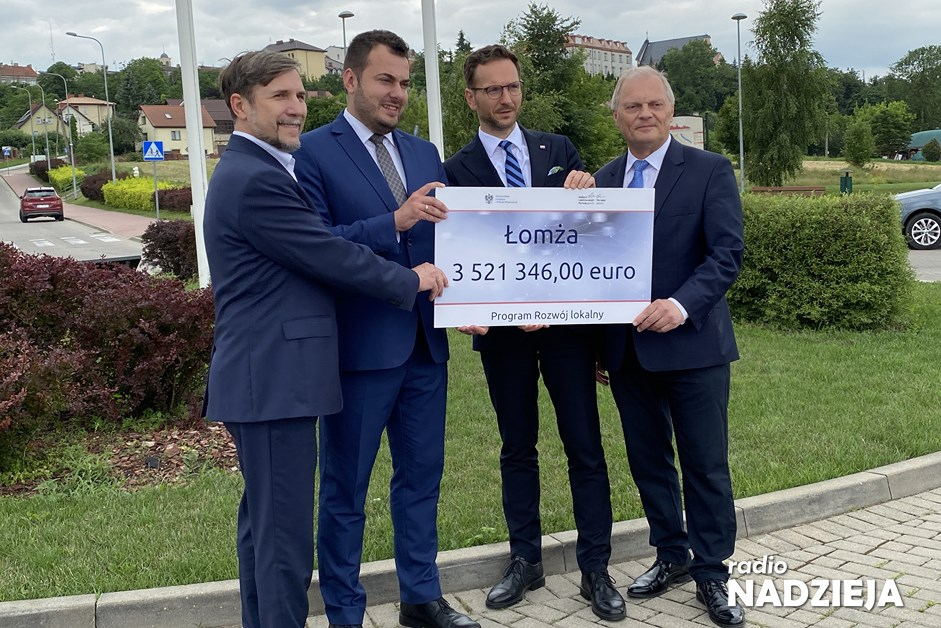 Łomża: Ponad 15 milionów złotych na rozwój miasta