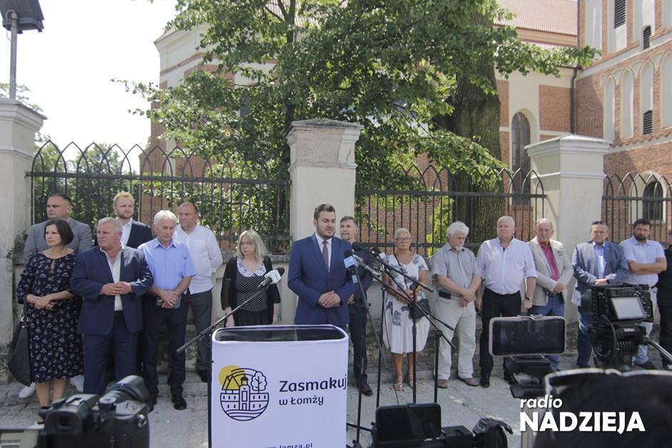 Łomża: Ulica Dworna oficjalnie otwarta