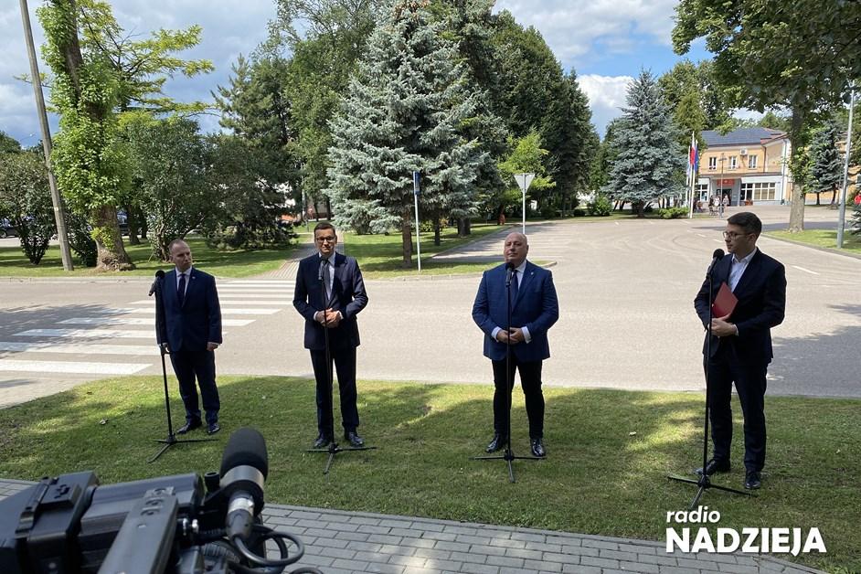 Premier Morawiecki w Grajewie: Niezwykle ważna jest harmonia między naturą i kulturą