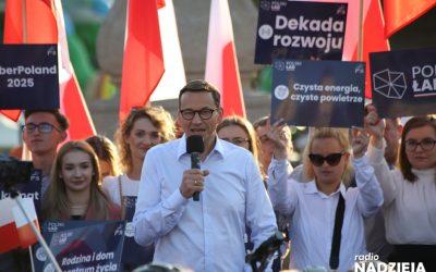 Premier w Tykocinie: Polski Ład to nowa wizja rozwoju