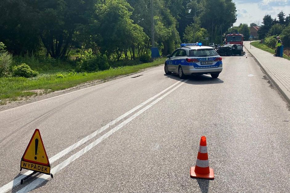 Zambrów: Wypadek na Łomżyńskiej. Są utrudnienia
