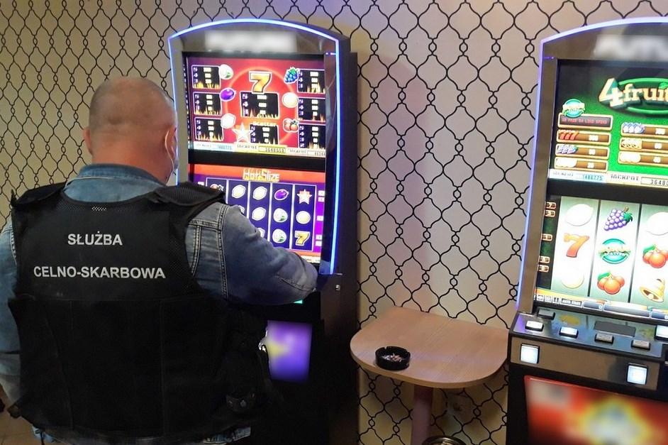 Wysokie Mazowieckie: Nielegalny salon gier zlikwidowany