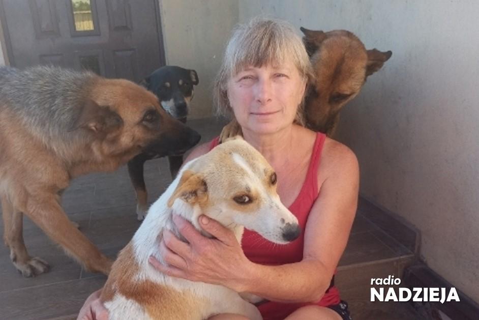 GD: Wiesława Rykowska, prowadząca Schronisko Canis w Kruszewie