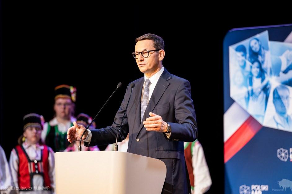 Kolno: Premier spotkał się z samorządowcami województwa podlaskiego