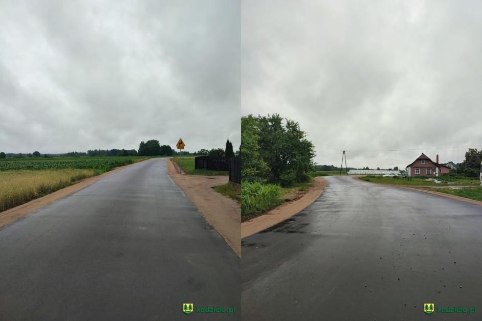 Gmina Kadzidło: Nowa droga w Golance