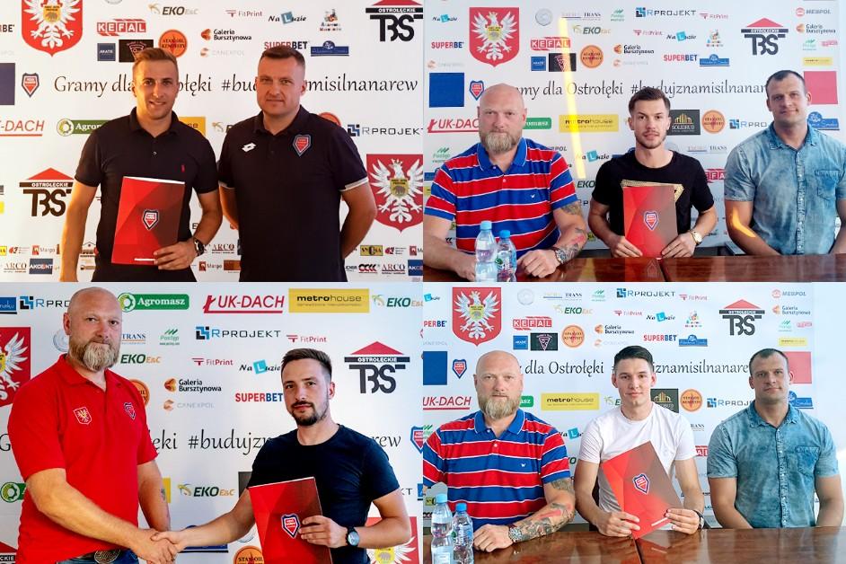 Piłka nożna: MZKS Narew Ostrołęka ma nowych zawodników