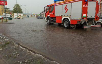 Region: Strażacy mieli ręce pełne roboty