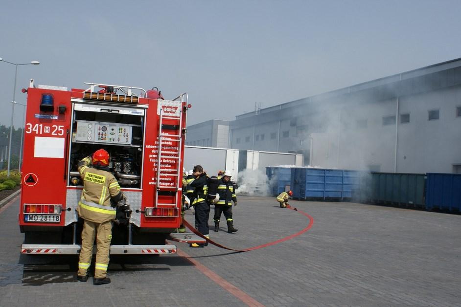 Powiat ostrołęcki: Strażacy ćwiczyli swoje umiejętności