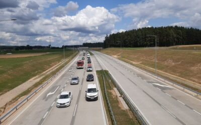 Via Baltica: Odcinek Stawiski-Szczuczyn częściowo przejezdny