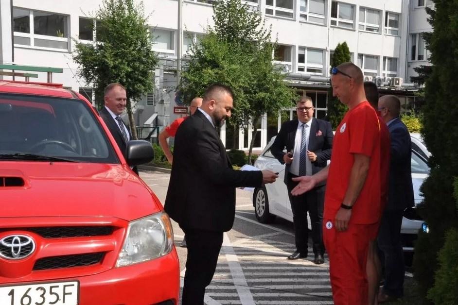 Łomża: WOPR otrzymał samochód terenowy