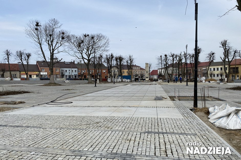 Kolno: Rewitalizacja Placu Wolności zakończona