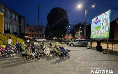 Letnie Kino Nadziei odwiedziło Kolno