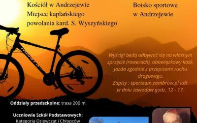 I Wyścig Rowerowy im. Kardynała Stefana Wyszyńskiego w Andrzejewie
