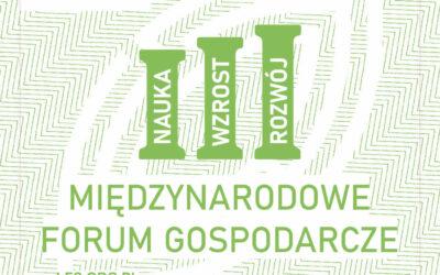 III Międzynarodowe Forum Gospodarcze