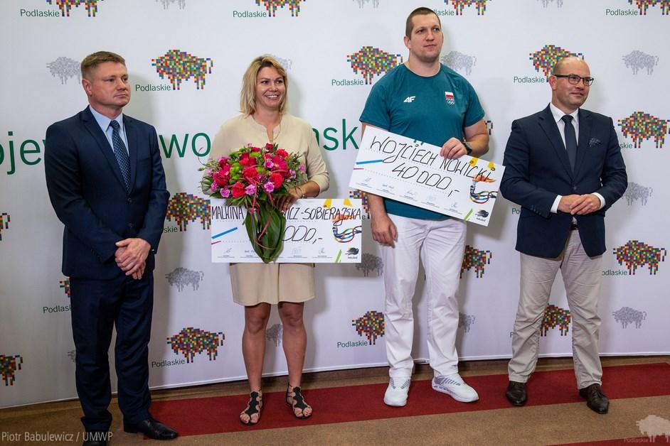 Igrzyska Olimpijskie 2020: Wojciech Nowicki u marszałka