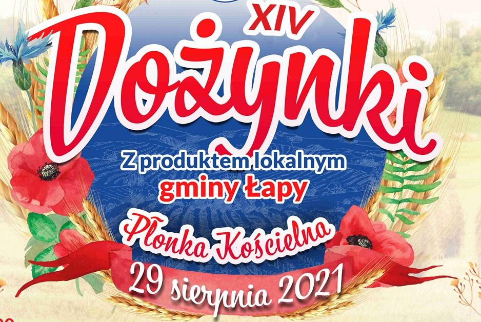 Gmina Łapy: W Płonce Kościelnej odbędą się XIV Dożynki z produktem lokalnym
