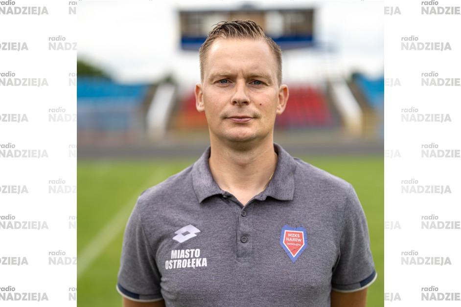 Popołudniówka: Andrzej Sieradzki, trener MZKS Narew Ostrołęka
